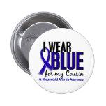 Llevo el RA azul de la artritis reumatoide del pri Pin