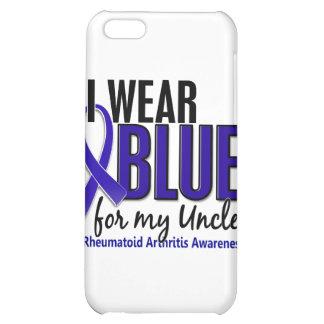 Llevo el RA azul del tío artritis reumatoide