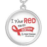 Llevo el rojo para mi enfermedad cardíaca de la he grimpola