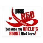 Llevo el rojo para mi tío 33 postal