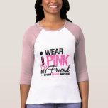 Llevo el rosa para mi amigo camisetas