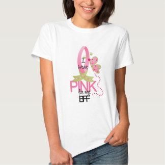 Llevo el rosa para mi camiseta de BFF Remera