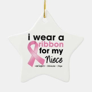 Llevo el rosa para mi cáncer de pecho de la ornatos