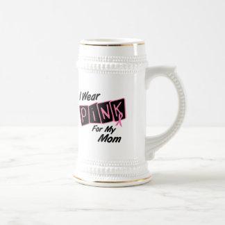 Llevo el rosa para mi cáncer de pecho de la mamá 8 taza