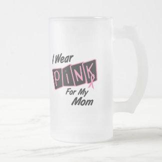 Llevo el rosa para mi cáncer de pecho de la mamá 8 tazas