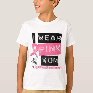 Llevo el rosa para mi cáncer de pecho de la mamá playera