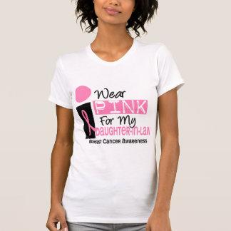Llevo el rosa para mi cáncer de pecho de la nuera t shirts
