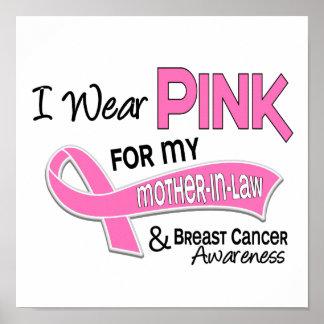 Llevo el rosa para mi cáncer de pecho de la suegra impresiones