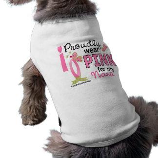 Llevo el rosa para mi cáncer de pecho de Nana 27 Camisas De Perritos