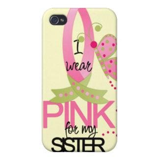 Llevo el rosa para mi caso del iphone 4 de la herm iPhone 4/4S funda