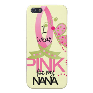 Llevo el rosa para mi caso del iphone 4 de Nana iPhone 5 Funda