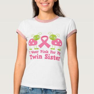 Llevo el rosa para mi hermana gemela camisas