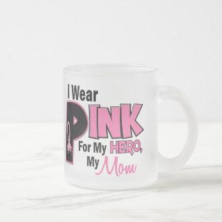 Llevo el rosa para mi mamá 19 tazas de café