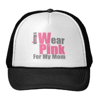 Llevo el rosa para mi mamá gorras de camionero