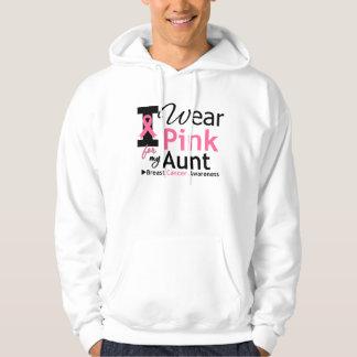 Llevo el rosa para mi tía sudadera