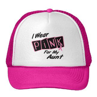 Llevo el rosa para mis camisetas del CÁNCER de la  Gorras De Camionero