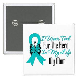 Llevo el trullo para el héroe en mi vida… mi mamá pin