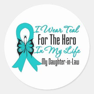 Llevo el trullo para el héroe mi vida, nieta etiquetas redondas