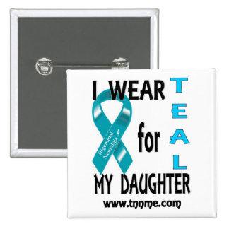 Llevo el TRULLO para mi botón de la hija Pin Cuadrado