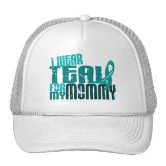 Llevo el trullo para mi cáncer ovárico de la mamá  gorras de camionero