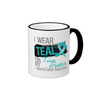 Llevo el trullo para mi hermana gemela - cáncer ov tazas