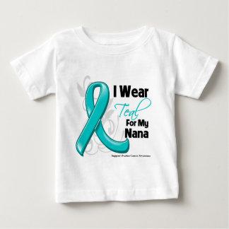 Llevo el trullo para mi Nana - cáncer ovárico Playeras