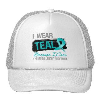 Llevo el trullo porque cuido - cáncer ovárico gorra