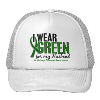 Llevo el verde para mi enfermedad de riñón del mar gorro