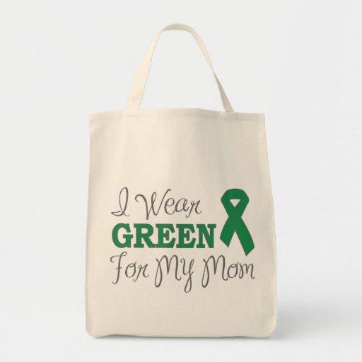 Llevo el verde para mi mamá (la cinta verde de la  bolsas