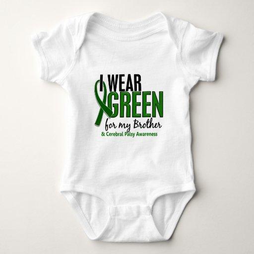 Llevo el verde para mi parálisis cerebral de body para bebé
