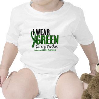 Llevo el verde para mi parálisis cerebral de Broth Camiseta