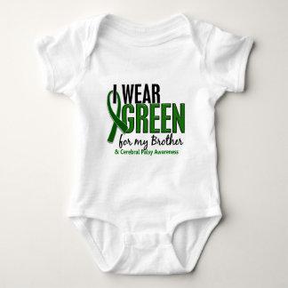 Llevo el verde para mi parálisis cerebral de polera
