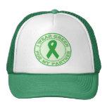 Llevo el verde para mi socio gorras