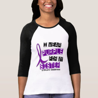 Llevo epilepsia púrpura de la hermana playera
