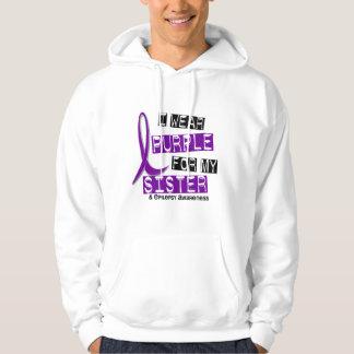 Llevo epilepsia púrpura de la hermana pulóver