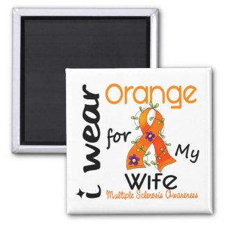 Llevo esclerosis múltiple del ms de la esposa del  iman