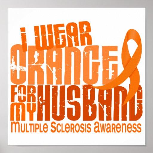 Llevo esclerosis múltiple del ms del marido anaran póster