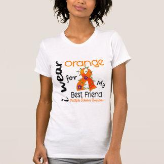Llevo esclerosis múltiple del ms del mejor amigo camisetas