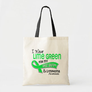 Llevo gran linfoma del abuelo de la verde lima 42 bolsa tela barata