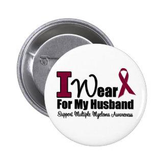 Llevo la cinta de Borgoña para mi marido Pin
