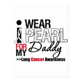 Llevo la cinta de la perla para mi papá tarjeta postal