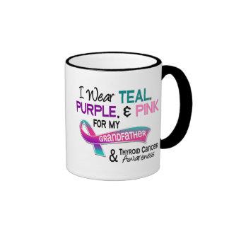 Llevo la cinta de la tiroides para mi abuelo taza de café
