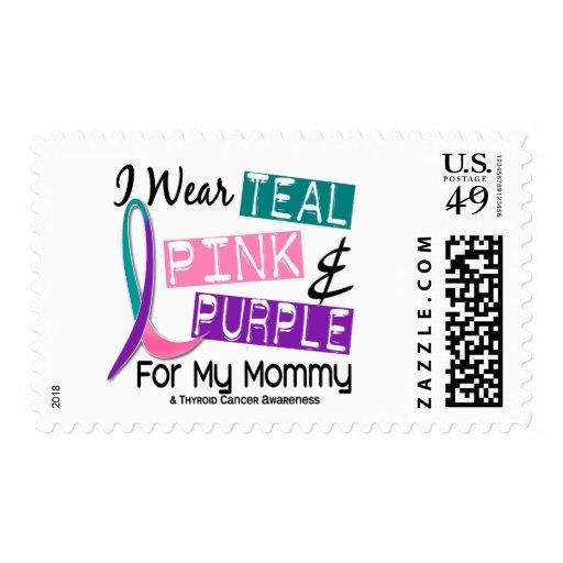 Llevo la cinta de la tiroides para mi mamá 37 sellos