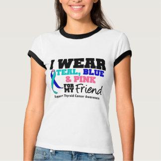 Llevo la cinta del cáncer de tiroides para mi polera