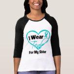 Llevo la cinta del corazón del trullo para mi camiseta