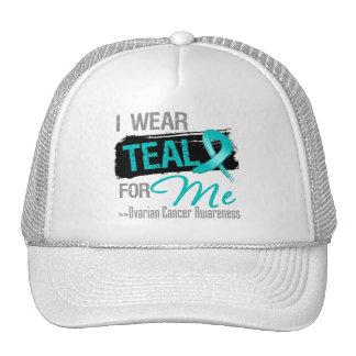 Llevo la cinta del trullo para mí - cáncer ovárico gorra