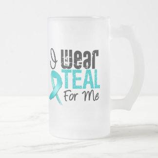 Llevo la cinta del trullo para mí taza de cristal
