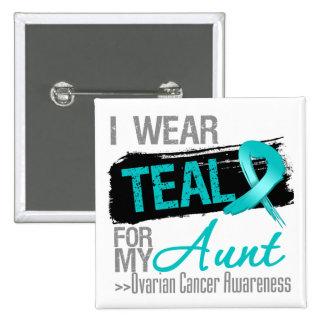 Llevo la cinta del trullo para mi tía cáncer pin cuadrado
