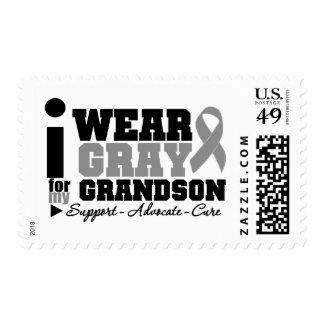 Llevo la cinta gris para mi nieto sello