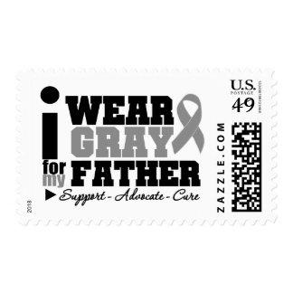 Llevo la cinta gris para mi padre sellos